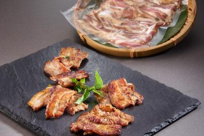Marinated Pork Belly Slice, Frozen