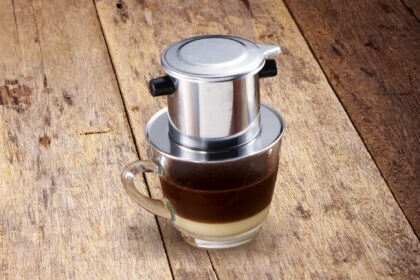 Vietnamese Drip Coffee with Condensed Milk (Hot)