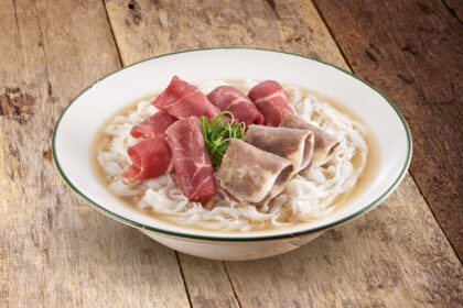Vietnamese Raw Beef and Beef Brisket