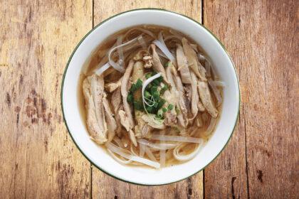 Vietnamese Free Range Chicken Noodle Soup