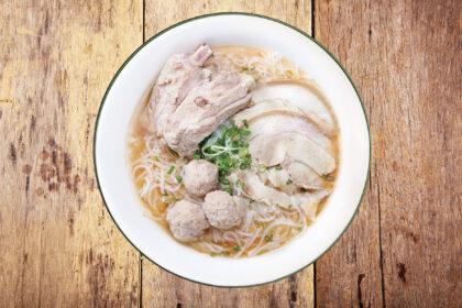 Vietnamese Pork Thick Vermicelli Soup