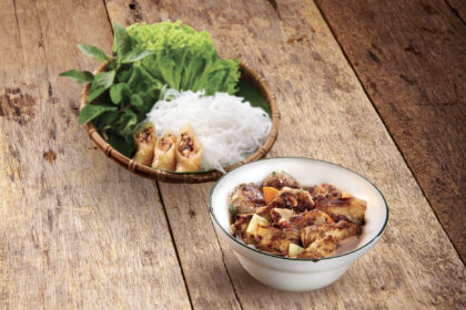 Hanoian Style Grilled Pork with Vermicelli