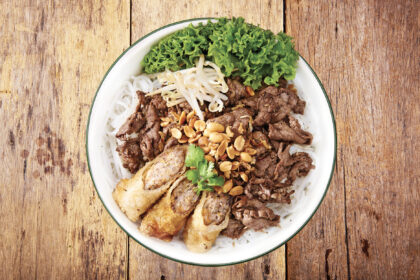 Sauteed Beef with Vermicelli