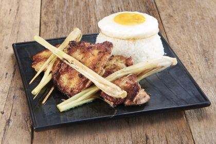 Grilled Lemongrass Chicken with Rice
