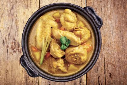 Vietnamese Lemongrass Curry Chicken