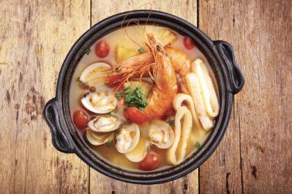 Seafood Sour Soup