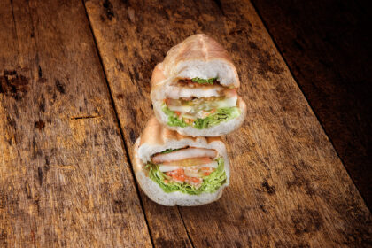 Grilled Lemongrass Chicken - Stack